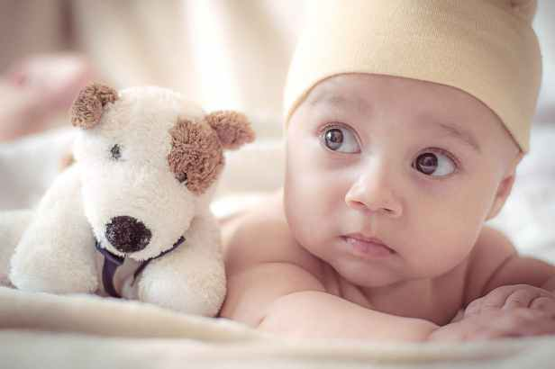 adorable baby blur child